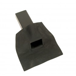 EPDM Single Ply Roofing Scupper Outlet, 60mm x 100mm