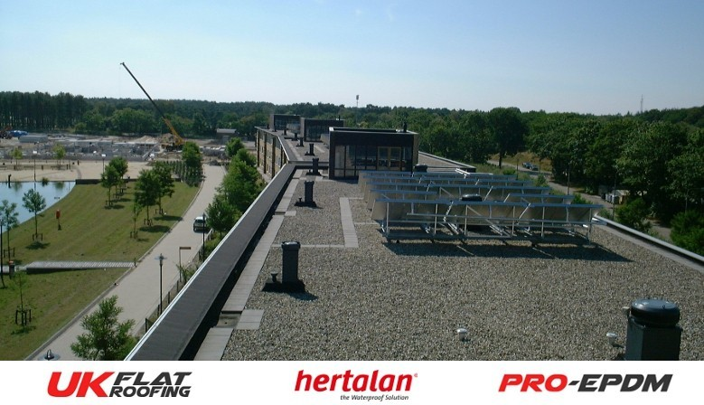 Roof Garden with PRO-EPDM