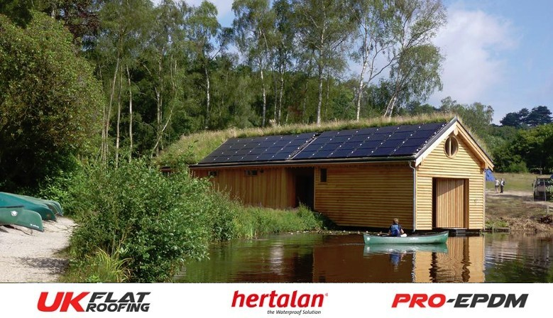 Green Roof with Hertalan EPDM